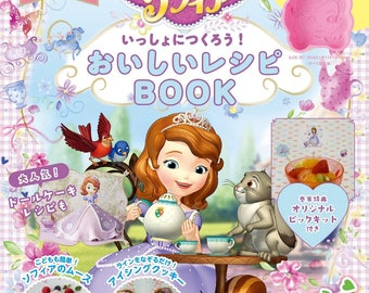 Sofia the First Recipes BOOK + Sofia Silicone Mold