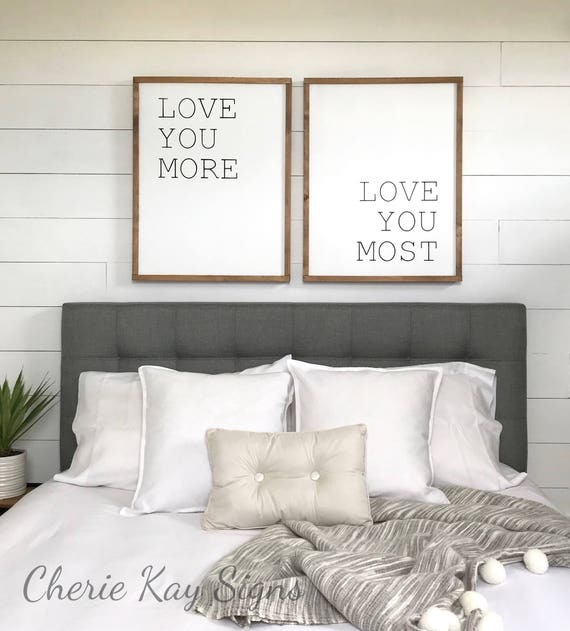 Bedroom love wall decor