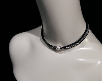 Double duty choker and bracelet, rhine stone and magnetic clasp NEW and Trendy