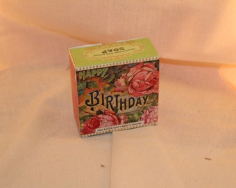 Happy Birthday Soap Bar