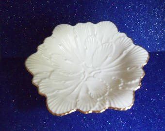 Lenox Candy Dish - Pedestal Lenox Nut and Candy Dish