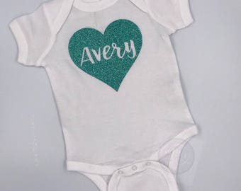 Name Outfit| Baby Girl Gift| Custom Outfit| Personalized Bodysuit| Baby Shower Gift| Coming Home Outfit| NameOutfit| Personalized Outfit