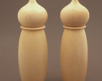 Holly Salt and Pepper Mill Set 8""