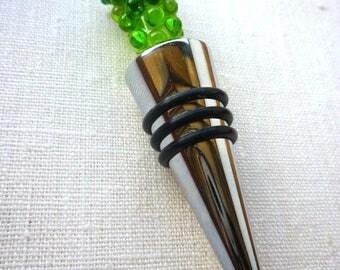 Universal Plug white grape wine accessory-murano glass and champagne object design
