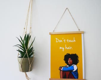 Poster Solange 'Don't Touch My Hair' - A3
