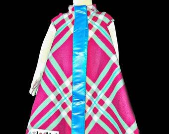 Lovey Coat in Pinkblue