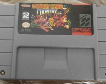 Donkey Kong Country Custom English Super Nintendo SNES