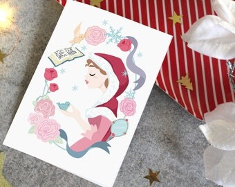 Carte Postale- Belle