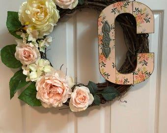 """Spring/Summer Wreath 18"""""""