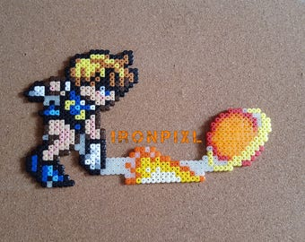 Sailor Uranus Haruka Power Attack World Shaking Sailor Moon [Pixel Art.