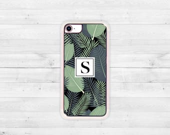 Tropical iPhone 7 case, Tropical phone case, Banana Leaf Case, Tropical iPhone 6 case, iPhone 7, iPhone 7 Plus, iPhone 6, iPhone 6 Plus