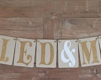 Custom Wedding Banner, Rustic Wedding, Rustic Wedding Banners, Custom Wedding/Any Event Banners