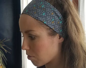Geometric Print Headband