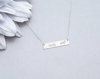 Weiner Necklace, Pet Jewelry, Dog Pendant, Weiner Dog Necklace, Dog Necklace, Pet Lover Gift, Weiner Dog Jewelry