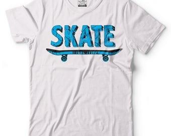 Skating T-shirts Cool Skate T-shirt  3D Cool Skateboard T-shirts  Skateboarding Shirts