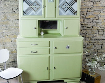 Mado, 40-50's, green, vintage buffet.