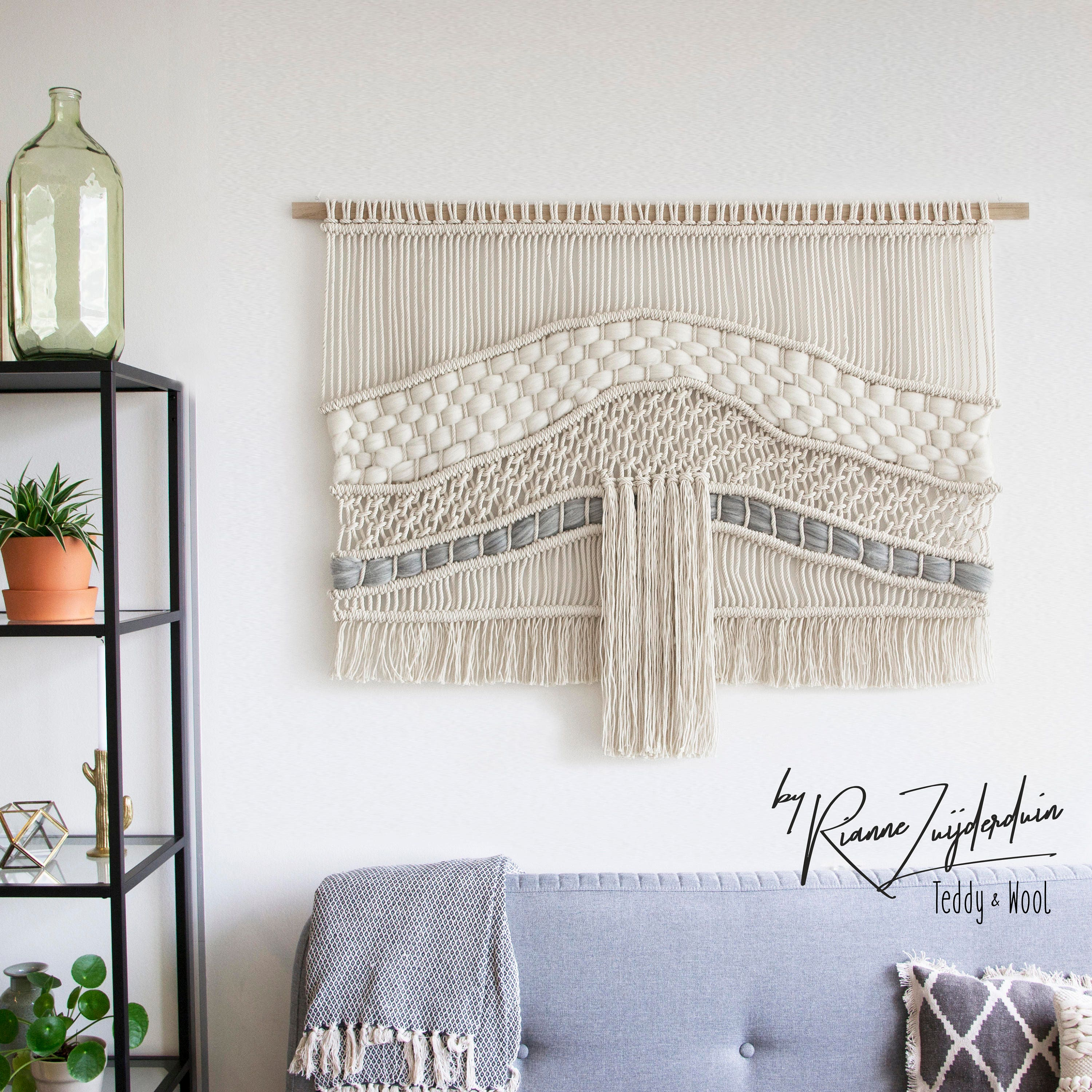 Large Wall Hangings Magnificent Large Wall Hangings  T E D D Y A N D W O O L Design Decoration