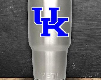 University of Kentucky decal - UK Wildcats - UK decal -Kentucky decal- yeti decal, MacBook decal, laptop decal, tumbler decal, car decal