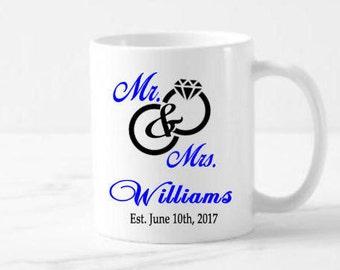 Personalize Ceramic Coffee Mugs Weddings Favors