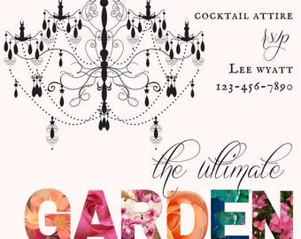 The Ultimate Summer Garden Party Invitation