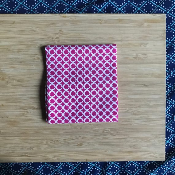 """Premium Cotton Fabric Fat Quarter - Designer Fabric - Quilting Fabric - Fat Quarters 18"""" x 21"""" Pink Blossom Print"""