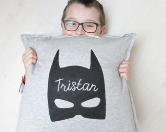 """Superhero"" personalized pillow. Kids Capsule collection."