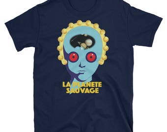 Fantastic Planet Draag cosmic meditation Laloux - Topor cult underground movie 100%cotton t-shirt