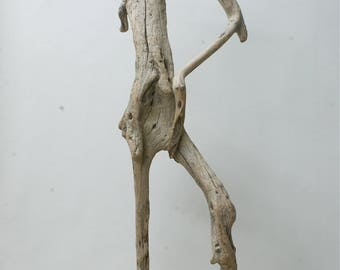 VENUS APHRODITE by Yiannis NANOURIS Greek Goddess Unique Wooden Olive Tree Figurine Artwork Sculpture Artistic Modern Art Piece New Handmade
