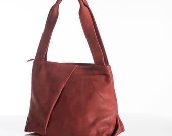 Women teacher bag, Women medium bag, Work bag women, Satchel bag, Office bag women, Leather shoulder bag, Genuine leather tote