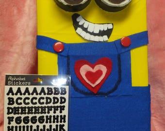 Classroom Valentine Mailbox Minion Kids Room Decor U0026 Treasure Box READY TO  USE Despicable Me For