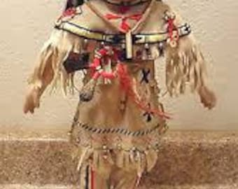 Buffalo Child Native American doll by Carol Theroux from Children of the Great Spirit Collection 1993