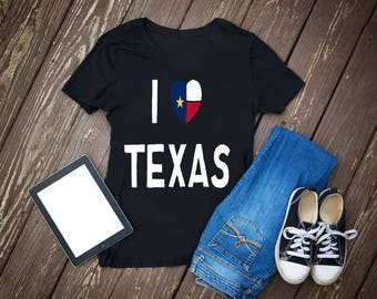 i heart texas,texas,i love texas,texas jewelry,gift for her,heart,texas state,sterling silver,personalized,i heart,state of texas