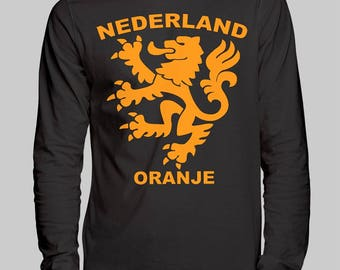 Netherlands Soccer Unisex Long Sleeve T-Shirt