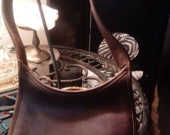 Coach brown chocolate shoulder bag