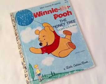 Little Golden Book Winnie the Pooh- The Honey Tree - Little Golden Book