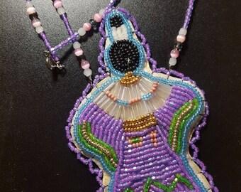 Beaded Dancer Necklace