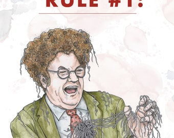 Dr. Steve Brule Chrimbus Card // Tim and Eric // Brule's Rules // Adult Swim Xmas // Ya Dingus // Funny Holiday Card // Gift for Friend, Him