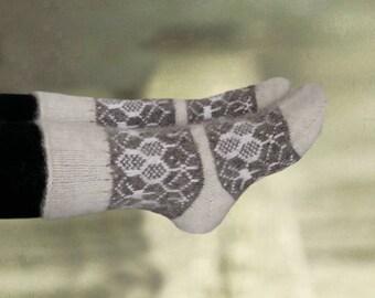 Wool winter socks, Warm merino socks, Womens wool socks, Women's knit socks, Socks merino wool, Gift for women, Christmas gift, Gift for her