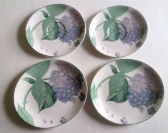 Sango Larry Laslo Collection Plates Hydrangea Plate Korean