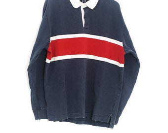 Vintage GAP Long Sleeve | Long Sleeve Polo | Design Gap Sweater | GAP 90s