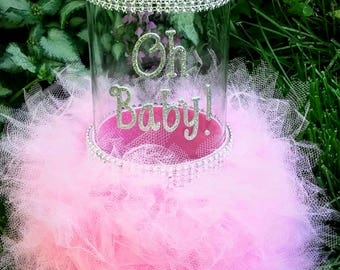 OH BABY shower gift, Baby shower party favors, Baby shower decorations, Bling baby shower gifts, Bling baby shower centerpiece
