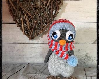 Crochet amigurumi, Teddy Penguin