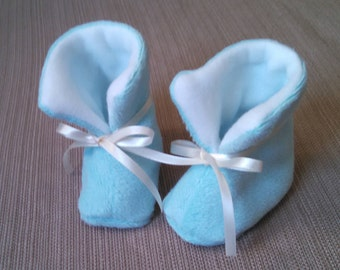 Blue Baby Booties/Shoes