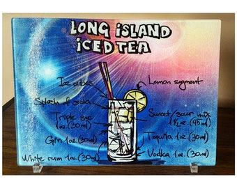 Typography Long Island Ice Tea