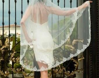 Bridal Hair Comb.
