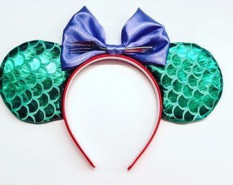 The Little Mermaid Inspired Mouse Ears