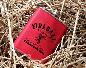 Fireball-Fireball Wall Art- Fireball Flask- Fireball Whiskey-Fireball Whiskey Gifts-Whiskey Gifts