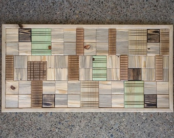 Wood Wall Art - Made from Rustic Reclaimed Wood
