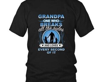 GRANDPA Shirt | Fathers Day Gift | Grandpa gift | Grandpa birthday | Gift from Grandkinds | Awsome Grandpa | Grandpa love FREE Shipping US