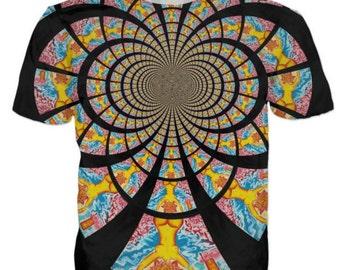 Kaleidoscope All-Over Print Tees